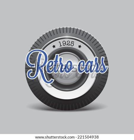 retro cars icon