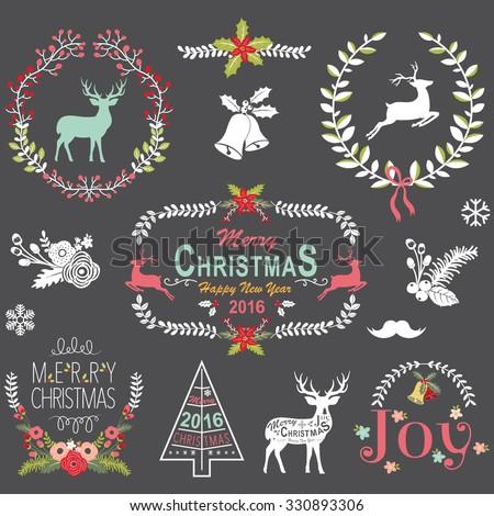Retro Christmas Chalkboard