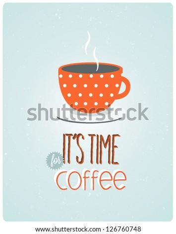 retro coffee vintage