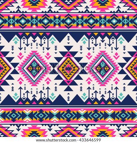 retro color tribal navajo...