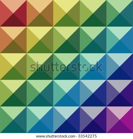 Retro colored vector check pattern.