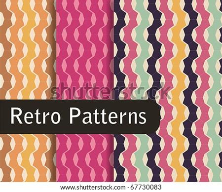 Retro Colorful Patterns