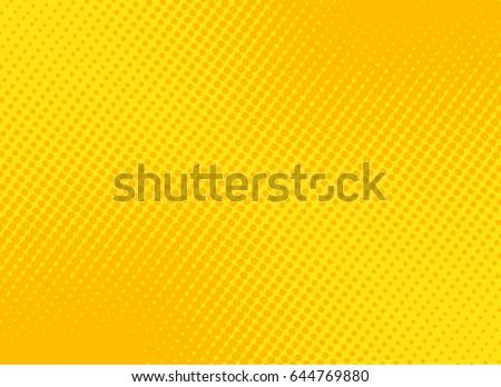 stock-vector-retro-comic-yellow-background-raster-gradient-halftone-stock-vector-illustration-eps