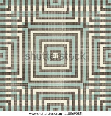 retro diamond geometric seamless pattern