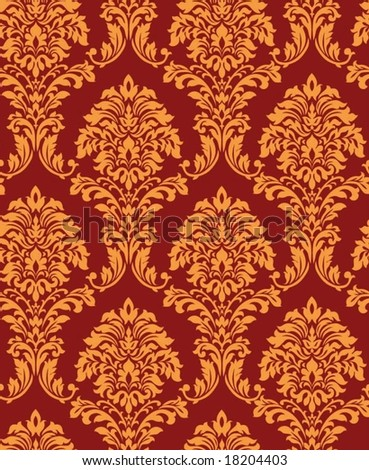 Retro floral background. Vector illustration.