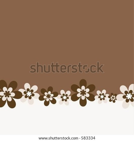 background images flowers. Retro flowers - ackground
