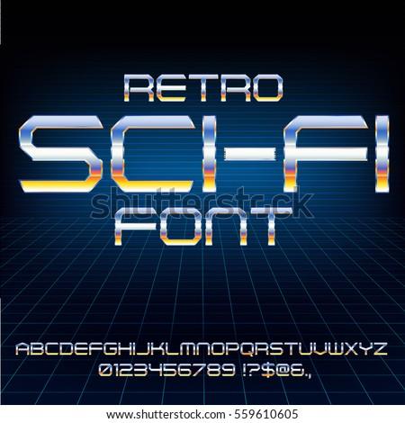 retro future military cyber sci