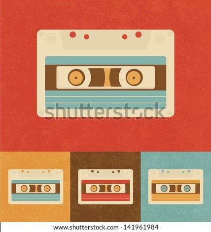 Retro Icons - Cassette