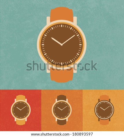 retro icons   classic watch