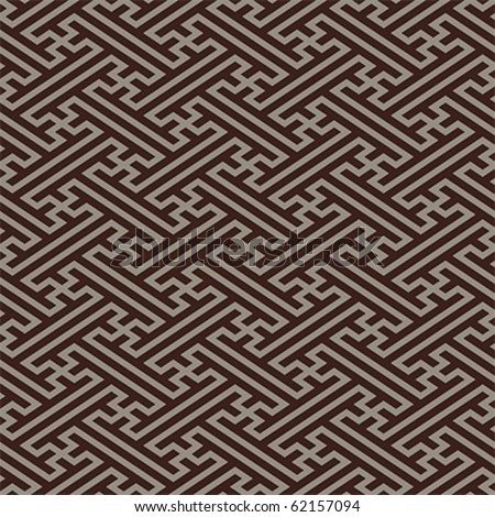 Retro japanese linen seamless pattern in dark colors