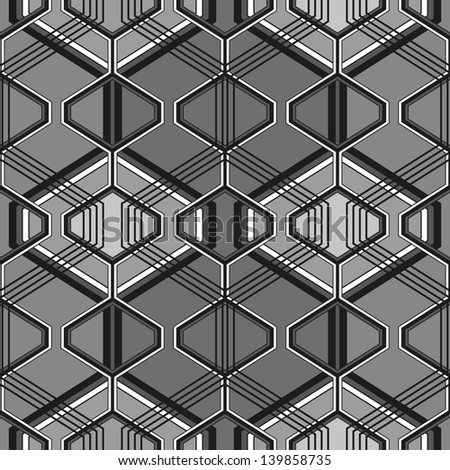 Retro pattern of geometric shapes.Black and white mosaic. Geometric hipster retro background. Retro triangle background