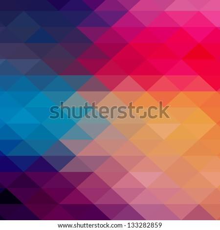 retro pattern of geometric