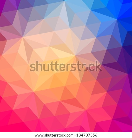 retro pattern of geometric