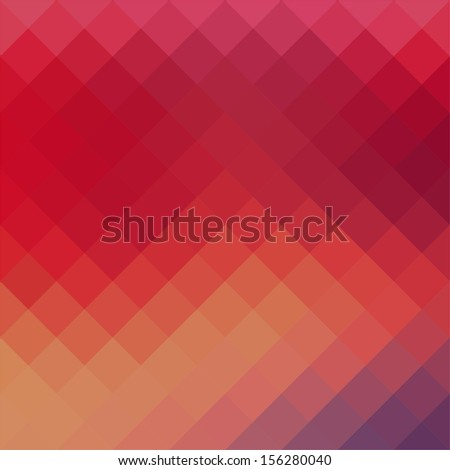 Retro pattern of geometric shapes.  Colorful mosaic banner. Geometric retro background with place for your text. Retro triangle background.