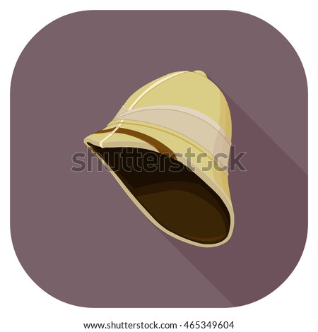 retro pith hunter's hat icon