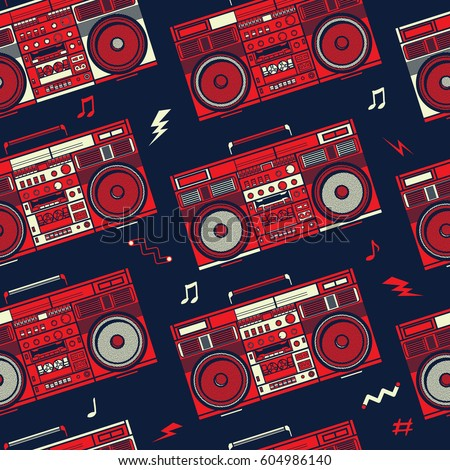 80 S Boom Box Pictures To Pin On Pinterest Pinsdaddy - 80's Png , Free  Transparent Clipart - ClipartKey
