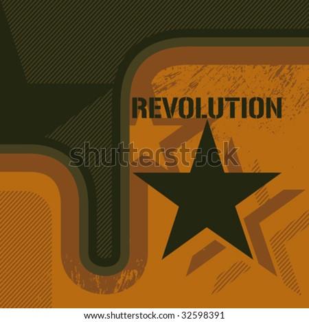 retro revolution background