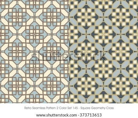retro seamless pattern 2 color