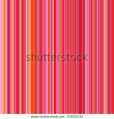 Retro (seamless) stripe pattern with bright red and pink