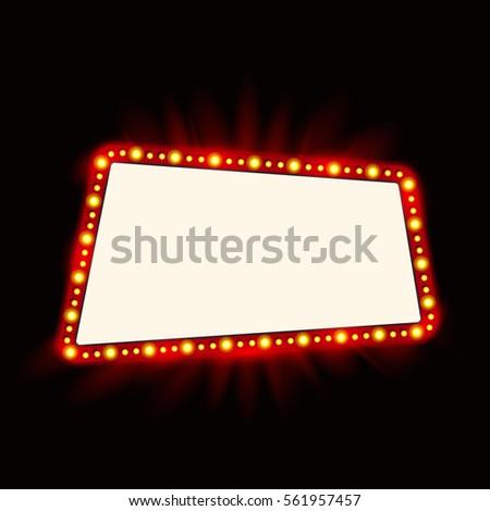 Realistic Retro light Bulb in the… Stock Photo 343888814