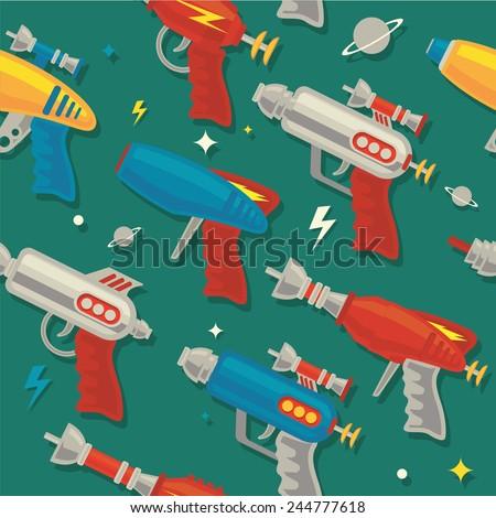 retro space gun ray gun