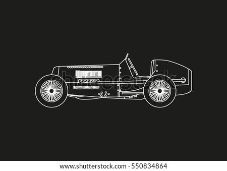 Car Blueprint Free Vector Art - (33 Free Downloads)