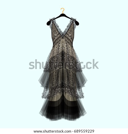 retro style dress with