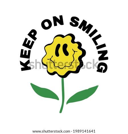 retro style slogan print with