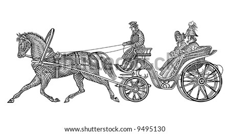 Vintage horse illustration download free vector art stock retro taxi vector ccuart Choice Image