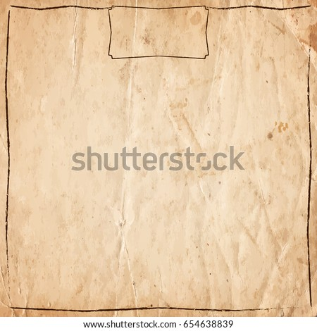 stock-vector-retro-vintage-border-on-the-old-paper-background-vector-illustration