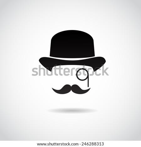 retro  vintage gentleman