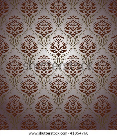 wallpaper retro. stock vector : retro wallpaper