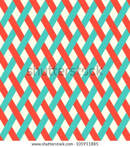 retro wicker pattern (seamless )