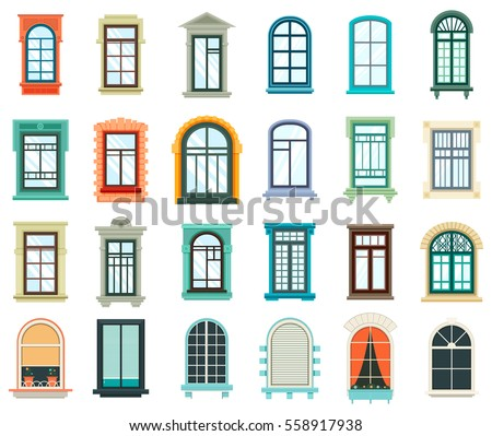 retro wood or wooden window