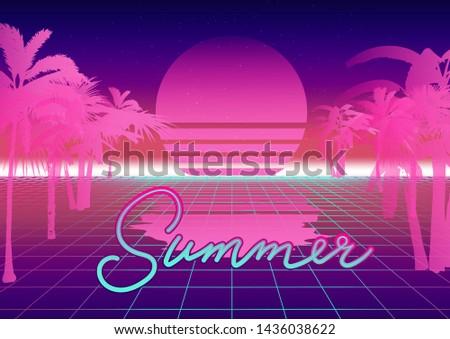 Summer beach fun game template - Download Free Vector Art, Stock