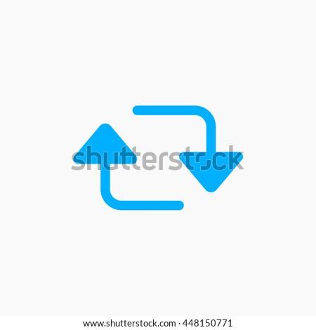Retweet icon, twitter logo, tweet sign, twt EPS, tweety vector, tweeter flat image, social media tool