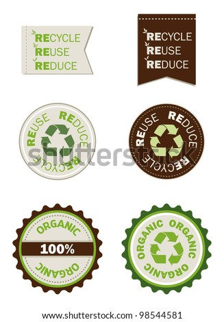 reuse recycle reduce organic seals, save the planet