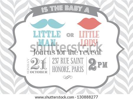 baby shower invitation samples