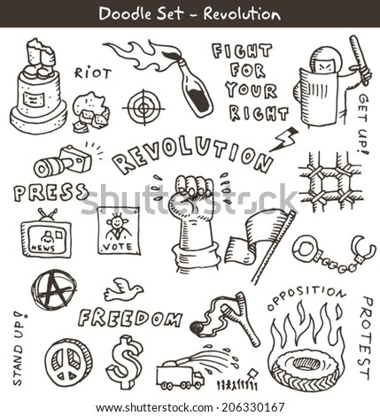 revolution doodles