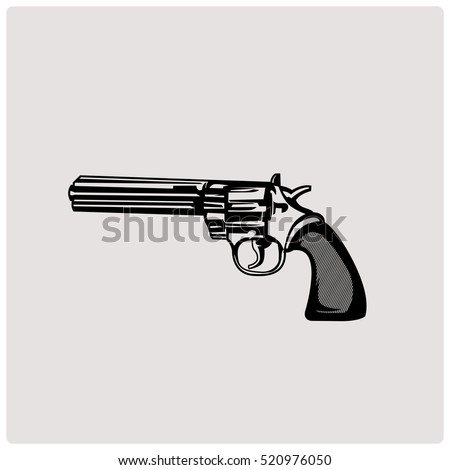 revolver weapon handgun pistol