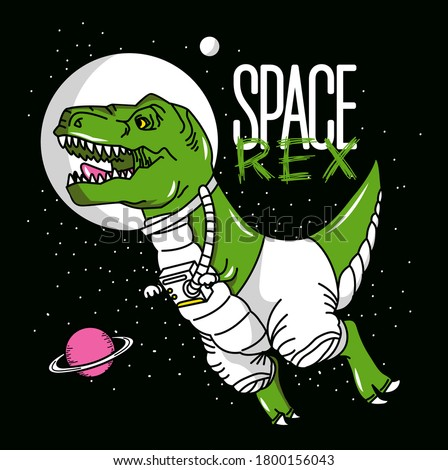 rex astronaut in space planets