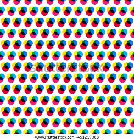 rgb dots pattern