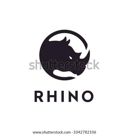 Rhino Badge logo design inspiration
