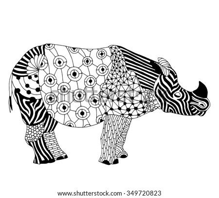 rhino   stylized fantasy