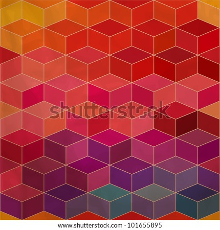 rhombic seamless pattern.Seamless pattern can be used for wallpaper, pattern fills, web page background,surface textures. Spectrum seamless background eps10