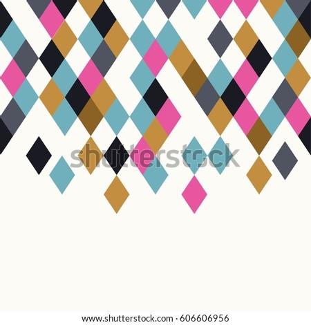 rhombus background geometric