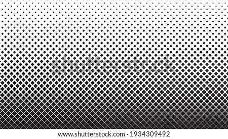 Rhombus Halftone Background Vector Abstract Geometric Technology Foto stock ©