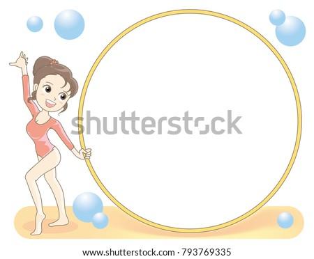 Rhythmic gymnastics - Hoop frame