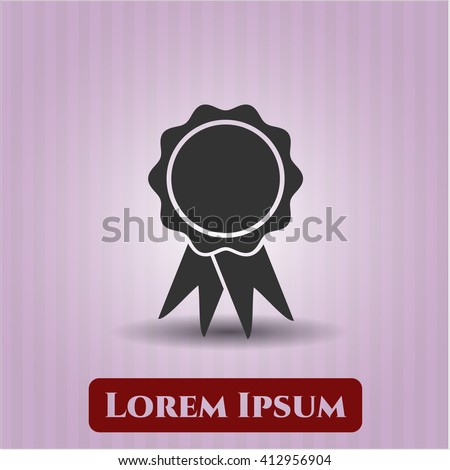 Ribbon icon or symbol