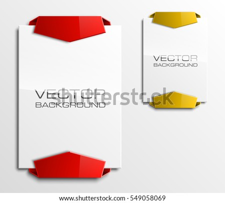 banner shape set download free vector art stock graphics images